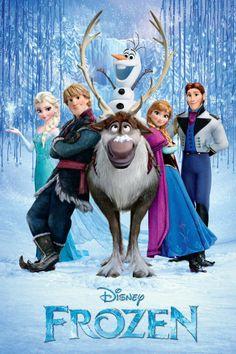 Una película que se llama FROZEN Una aventura congelada hecha por los creadores de ralhp el demoledor y enredados