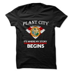 Plant City - Florida - Its Where My Story Begins ! Ver  - #sweatshirt jeans #cozy sweater. MORE ITEMS => https://www.sunfrog.com/States/Plant-City--Florida--Its-Where-My-Story-Begins-Ver-5.html?68278