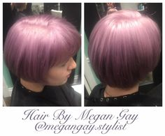 The Bend Salon • Barber - Webster Groves, MO - St. Louis - purple hair