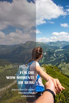 Jetzt schon mal für euren Wanderurlaub schmöckern Bergen, Fitbit, Tourism, Hiking, Mountains
