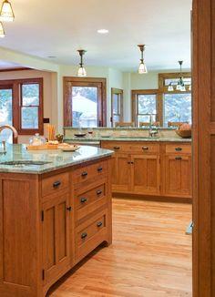 craftsman style kitchens - Bing Images