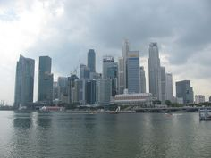 Singapore Skyline during the day
