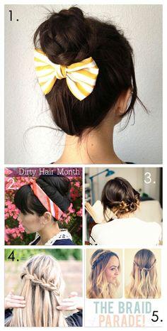 Miraculous Different Ways To Do Your Hair Hair Pinterest My Hair Hair Short Hairstyles Gunalazisus