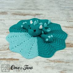 Talk about ADORABLE!! Felix the Baby Dragon Security Blanket Crochet Pattern $3.99