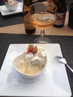 Beer Recipes, Great Recipes, Tiramisu, Blond, Food And Drink, Ice Cream, Desserts, Sherbet Ice Cream, Deserts
