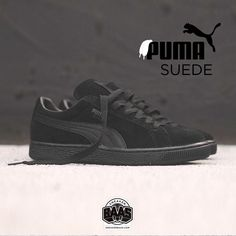 """#puma #suede #pumasuede #sneakerbaas #baasbovenbaas  Puma Suede """"Black"""" - Now available - Priced at 79.99 Euro  For more info about your order please send an e-mail to webshop #sneakerbaas.com!"""