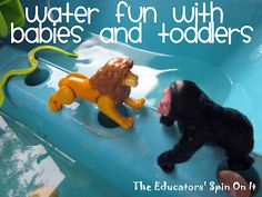 The Educators' Spin On It: Water Fun with Babies and Toddlers