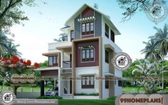 Small 1 Bedroom House Plans | 90+ 2 Storey Modern House Plans Online