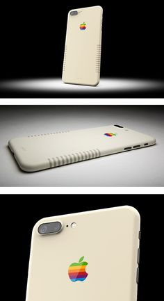 Custom painters ColorWare made a retro iPhone 7 Plus—it's like you've time traveled back to the 1980s!
