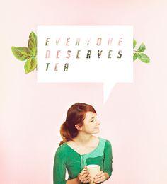 Everyone deserves tea // Lizzie Bennet Diaries