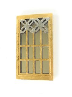 Narrow Wall Mirror 4.5 x 4.5, mirror, wall mirror, decorative mirror, square mirror