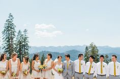 Lake Tahoe ski resort wedding at @skinorthstar with @LTWC and @emthegem