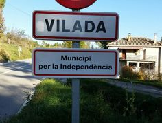 Vilada, municipi per la independència / Vilada, municipality for independence (01/11/15) via @xavialtadill