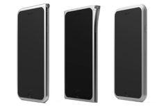 現代アートのようなiPhone 6 Plusアルミバンパー!