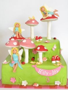 Little fairies By dutch-cakebox on CakeCentral.com