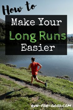 Get long distance running tips to make your long runs easier and more comfortable, while getting you prepared for your half or full marathon. 5k Running Tips, Long Distance Running Tips, Running For Beginners, How To Start Running, Running Workouts, Trail Running, Marathon Running Motivation, Pace Running, Treadmill Running