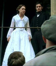 Daniela Denby-Ashe (Margaret Hale) & Richard Armitage (Mr. John Thornton) - North & South (TV Mini-Series, 2004) #elizabethgaskell
