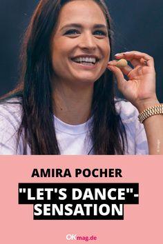 """In wenigen Monaten geht """"Let's Dance"""" in eine neue Runde - und nun könnte es auch schon Hinweise auf die erste Kandidatin geben: Nimmt Amira Pocher, 27, an der RTL-Show teil? #amirapocher #letsdance #rtl #oliverpocher #okmag"""