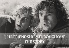 The friendships throughout the story. Submitted by christineisbambi.