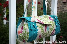 Blossom Bag ----- beautiful ---free pattern and pattern review