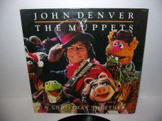 Vtg 1979 Jim Henson's MUPPETS & JOHN DENVER RCA Vinyl 33 1/3 LP DLP Free S/H USA