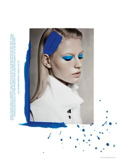 Artsy–The October issue of Elle Mexico puts the spotlight on all white fashions for this feature photographed by Elliot & Erick. The studio images are given an artisanal edge with models Lisette and Natalie wearing painted hairstyles and faces juxtaposed with multi-media effects. Styled by Brandon Fogel, the girls sport styles from labels such as Proenza Schouler, Christopher Kane and Alexander Wang. / Makeup and hair by Bo, ...