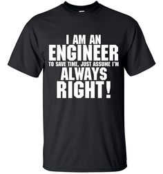 100% Cotton O-Neck Short Sleeve tees TRUST ME I AM AN ENGINEER  streetwear  Mens t shirts tops tees top brand slim clothing