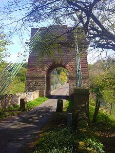 Union Bridge aka Chain Bridge over River Tweed from Scottish side   Flickr - Photo Sharing!