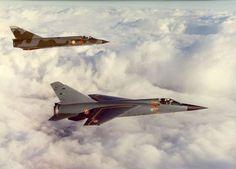 Dassault Mirage F-1 (front)  Dassault Mirage IIIE.