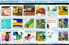 Cuentos infantiles - La mejor selección de vídeos online de cuentos cortos. Aprendizaje y diversión totalmente gratis. Página diseñada para iPad, iPhone, tablets y dispositivos Android.