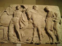 British Museum  Roman relief