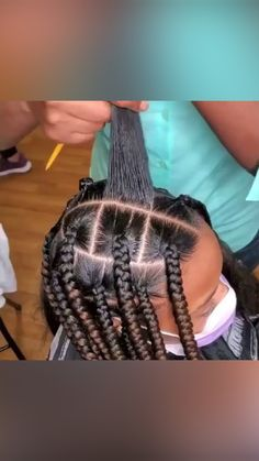 Lil Girl Hairstyles, Box Braids Hairstyles For Black Women, Braids Hairstyles Pictures, Twist Braid Hairstyles, African Braids Hairstyles, Braids For Black Hair, Protective Hairstyles, African Hairstyles For Kids, Braids For Black Kids