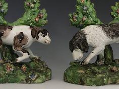 William Daniels, Types Of Ceramics, Garden Sculpture, Polka Dots, British, Pottery, Antiques, Animals, Ceramica