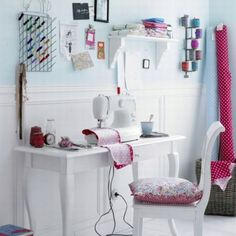 Nice sewing room