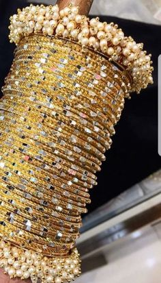 Are you checking out silver indian jewelry, gold plated indian jewelry also indian gold jewelry designs,.Check out website above press the grey bar for even more info _ Bridal Bangles, Gold Bangles, Bridal Jewelry, Thread Bangles, Indian Wedding Jewelry, Indian Jewelry, Indian Bangles, Indian Bridal, Indian Jewellery Design
