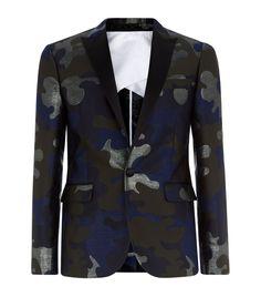 DSquared2 Camouflage Tuxedo Jacket   Harrods