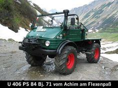 Mercedes-Benz - Unimog 403 / 406 / 413 / 416 / 421 (Special vehicles) - history, photos, PDF broshures