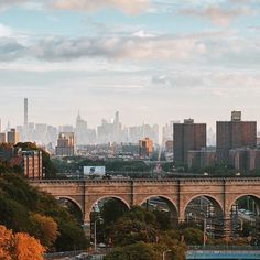 100K posts and counting for our #SeeYourCity hashtag! Use it on your best NYC pics to be featured! Pictured here: the High Bridge, a former aqueduct turned pedestrian span connecting parks in The Bronx and Manhattan. 📷: @wes_tarca