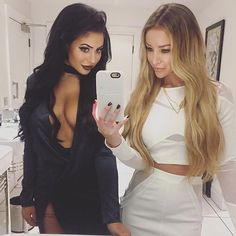 Amazing day with these two  @laurenpopey @chloegshore1 #HRLxChloeFerry #ComingSoon by hairrehablondon