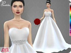 Colores Urbanos' Wedding Dress 7 RECOLOR 2 (Needs mesh)