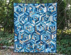 Crystallized by Kristin Lawson | Quilting Pattern - Looking for your next project? You're going to love Crystallized by designer Kristin Lawson. - via @Craftsy