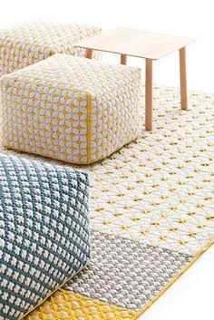 bordado contemporâneo: a marca de tapetes gan busca nas técnicas indianas milenares a inspiração para criar tapetes belos e confortáveis | bamboo