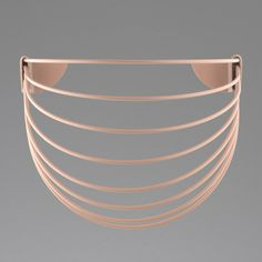 Wallment Baskette wall basket in Nude. Baskets On Wall, Wall Basket, Powder Paint, 9 Square, Painted Metal, Plant Wall, Metallic Paint, Scandinavian Style, Different Colors