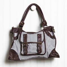 love boat nautical striped purse #nautical #sailor #fashion #style #purse #bag #ruche