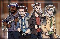 Gang Beasts, Mini Ladd, Bbs Squad, Vanoss Crew, Banana Bus Squad, Youtube Gamer, Best Youtubers, Squad Goals, Crazy People