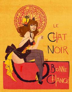 Le Chat Noir reinterpretation