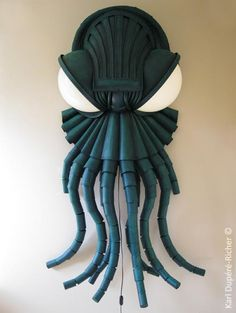 "Cthulhu Lamp Sure Puts the ""Craft"" In Lovecraft- THIS IS THE GOD DAMN BUSINESS RIGHT HERE!"