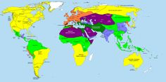 The World at Alexander the Great's Death in 323 BCE.