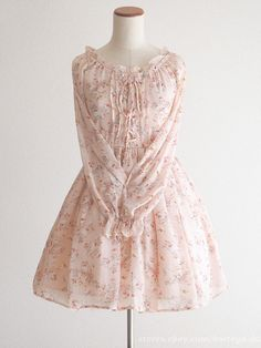 LIZ LISA Floral Lace up Nymph OP Dress Hime gyaru Lolita Size0 Japan #LizLisa #PeplumTunic #Party