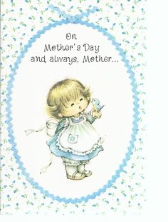 Vintage Mothers's Day Greeting Card.